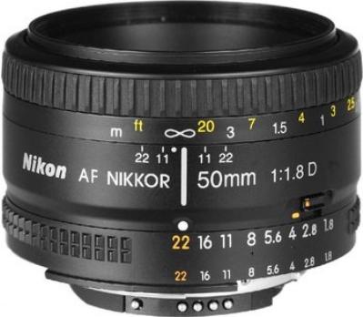 Nikon AF Nikkor 50mm f1.8 D