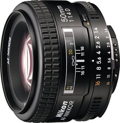 Nikon AF Nikkor 50mm f1.4 D