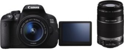Canon EOS 700D Kit 18-55 mm + 55-250 mm IS STM + IS