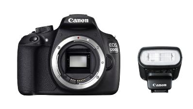 Canon EOS 1200D Body + Canon Speedlite 90EX